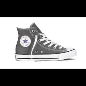 Converse High Tops- Grey